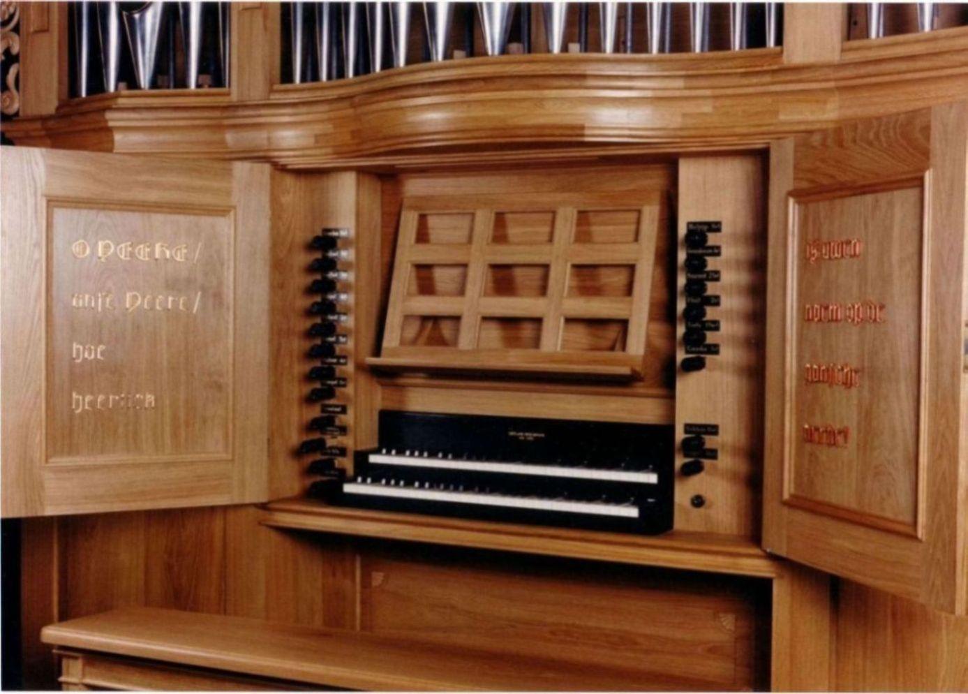 Orgel Leeflang 1991 Kandelaarkerk - Excursie Hetty Koelewijn 2016