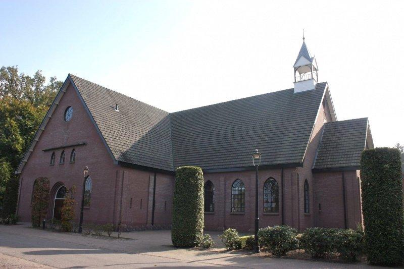 Bestand:11180 De Beek Geref. Gem. in Ned. 1920 en 1987 1997 Paleisweg 214 Gld. opname 12-10-2010 foto. André van Dijk Veenendaal (48).JPG
